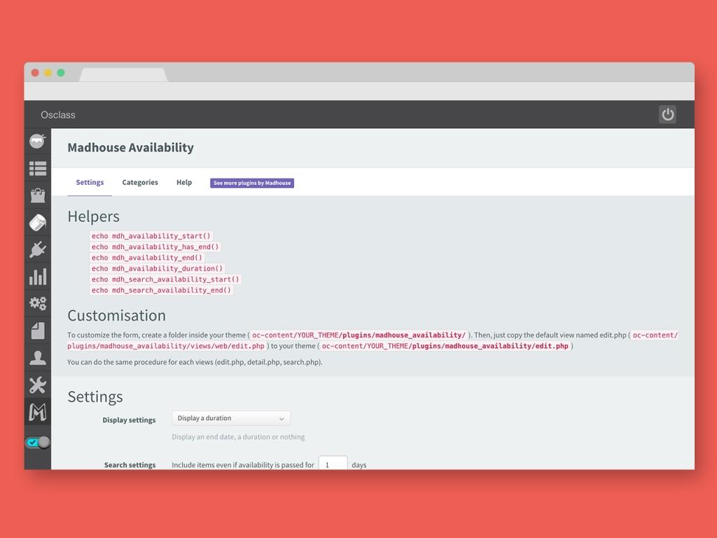 Custom Attributes plugin for Osclass – Availability – 1