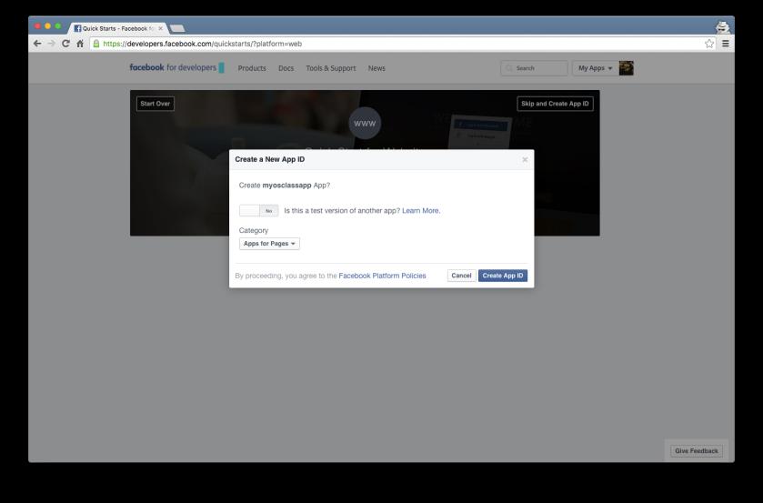 Osclass Facebook Tutorial 2